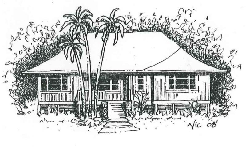 Hawaii architects welch and weeks llc about us for Beach house drawing